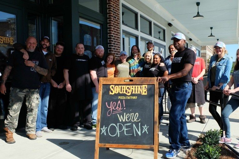 Soulshine Pizza opens in Berry Farms